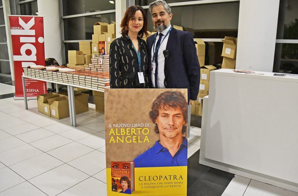 Alberto Angela – Prima Mondiale Libro Cleopatra